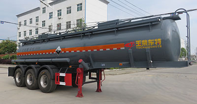 DTA9400GFW腐蝕性物品罐式運輸半掛車