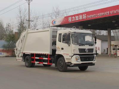 CLW5164ZYST4型压缩式垃圾车