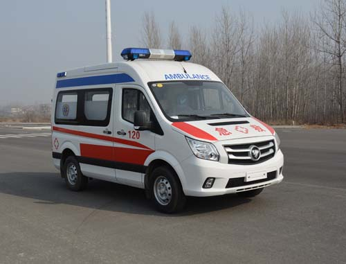 福田圖雅諾救護車(長軸)