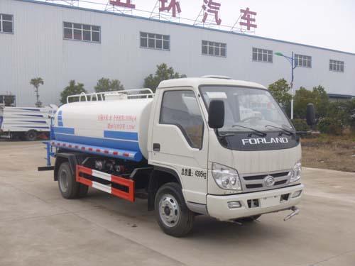 3吨福田绿化喷洒车