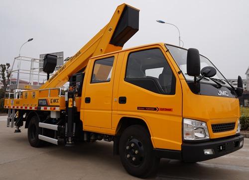 柳工牌高空作业车(CLG5050JGKA)的车型配置分析