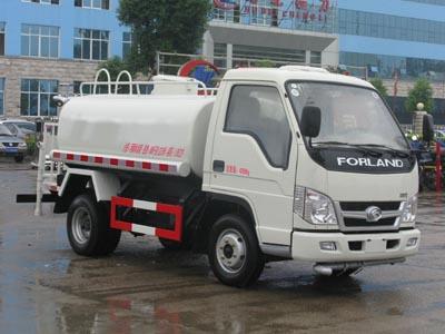 3吨福田小型绿化喷洒车