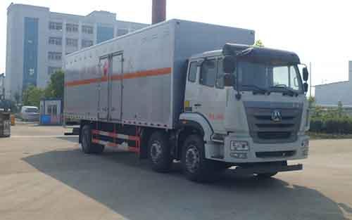 HLW5250XRY5ZZ易燃液體廂式運輸車