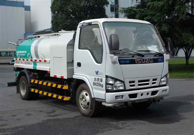 中联牌3吨洒水车(ZLJ5061GSSQLE4)卓越品质!