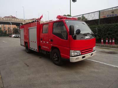 消防车结构及工作原理