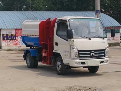 凯马3-4方挂桶式垃圾车