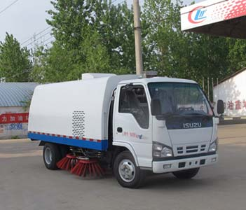 CLW5060TSLQ4型扫路车