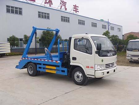 華通牌擺臂式垃圾車(HCQ5045ZBSE5)使用方法和步驟圖片