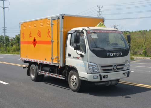 JHW5080XRQB-F3易燃气体厢式运输车