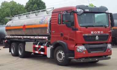 豪沃鋁合金運油車18.9立方