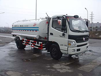 北京市清洁机械厂BQJ5120GSSB型福田奥铃洒水车