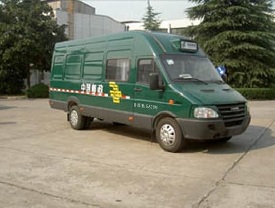 依维柯邮政车图片