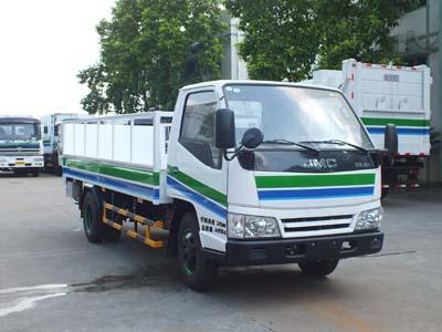 江铃新顺达单排桶装垃圾运输车图片