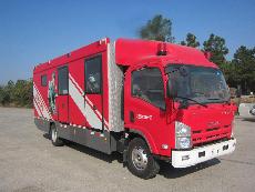 金盛盾牌0吨供气消防车专业评测图片