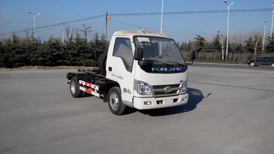 山东巨环专用汽车ZJH5042ZXX型小卡之星2车厢可卸式垃圾车