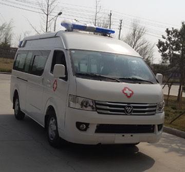 福田G9长轴汽油救护车