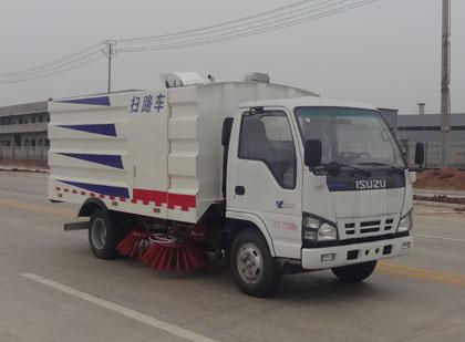 慶鈴五十鈴600P輕卡掃路車圖片