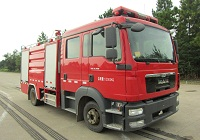 水罐消防车正规厂家(RY5121GXFSG50),厂家直销