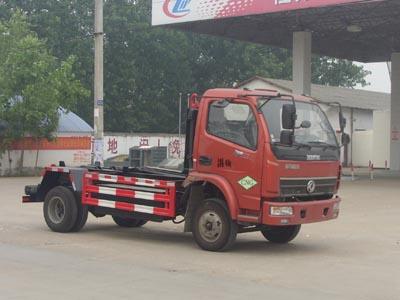 CLW5040ZXXE4车厢可卸式勾臂垃圾车
