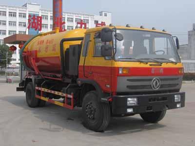 5吨吸污车的车的组成