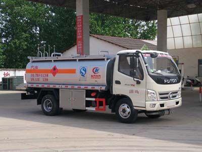 福田奥铃5吨加油车