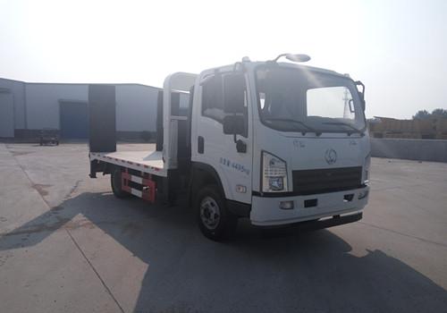 陕汽轩德蓝牌平板运输车图片