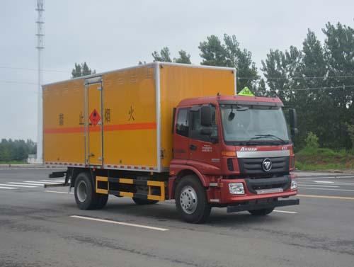 JHW5160XRQAC易燃气体厢式运输车