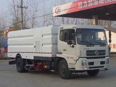 程力东风天锦9水7尘洗扫车
