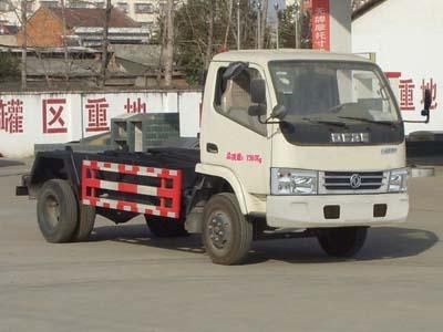 程力东风多利卡5方勾臂式垃圾车