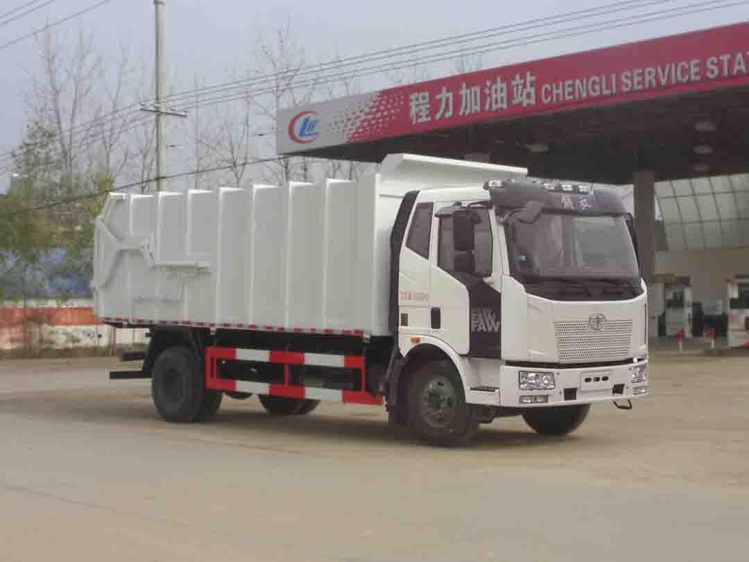 CLW5160ZDJC5压缩式对接垃圾车(解放)