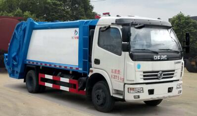 DLQ5080ZYSC5型压缩式垃圾车