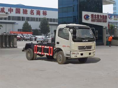 程力东风多利卡8方勾臂式垃圾车