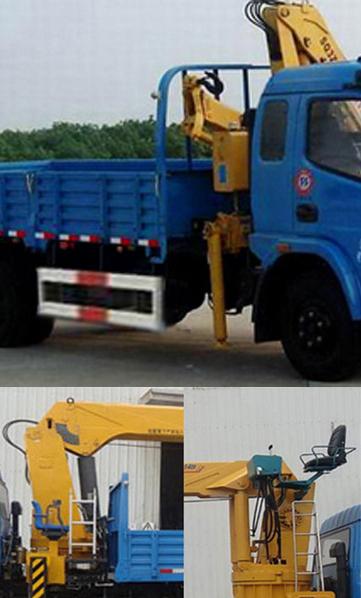 东风多利卡5.1米3-5吨随车吊玉柴140马力