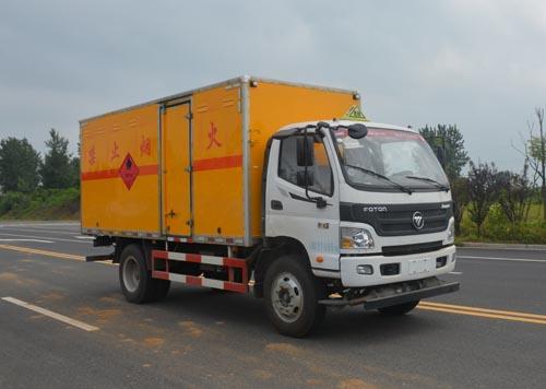 JHW5120XRQB-F6易燃气体厢式运输车