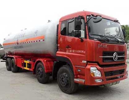 亚博体育官网天龙前四后八液化气体运输车图片