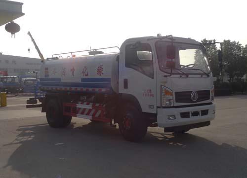 东风国五天燃气10吨绿化喷洒车图片