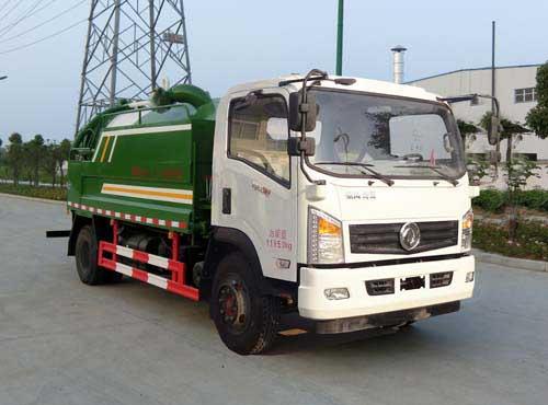 HYS5120GQWE清洗吸污车
