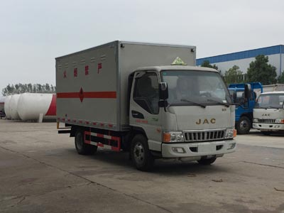 江淮易燃氣體廂式運輸車