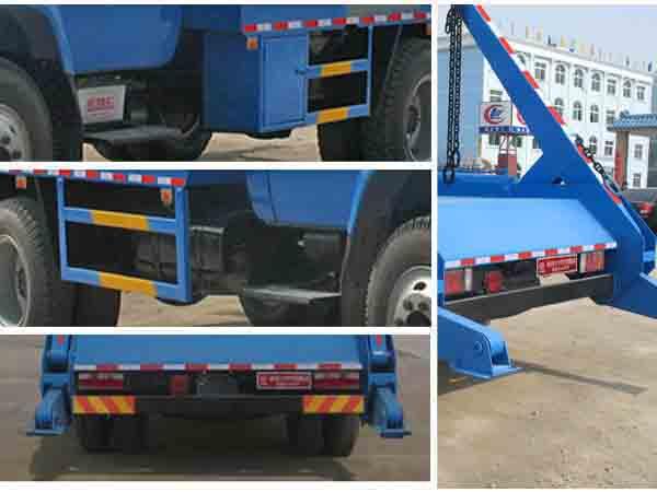 东风140摆臂式垃圾车图片