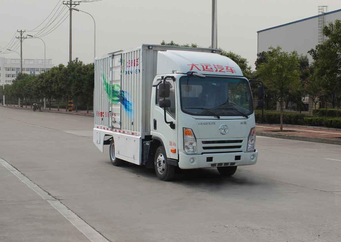 首页 货车 纯电动厢式运输车 03纯电动厢式运输车  (大运汽车出品)