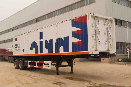 易燃气体罐式运输半挂车图片