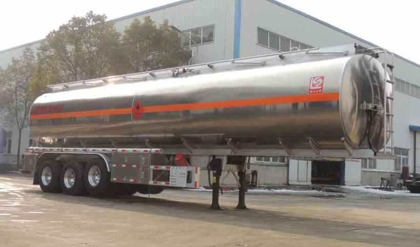 SLS9402GYYA铝合金运油半挂车