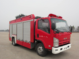 700P单排照明消防车
