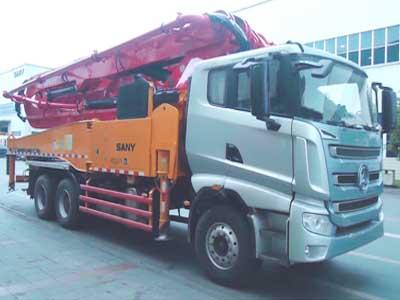SYM5335THB混凝土泵车