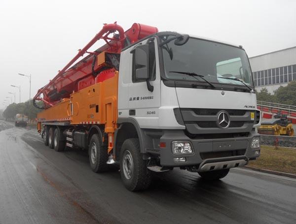 SYM5540THB混凝土泵车