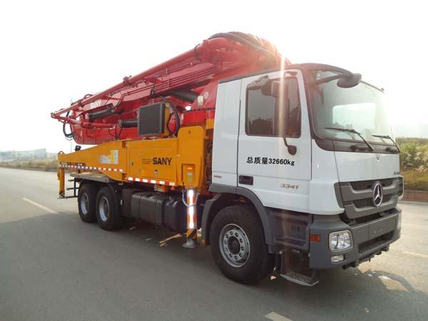 SYM5332THB混凝土泵车