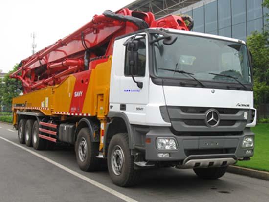 SYM5530THB混凝土泵车