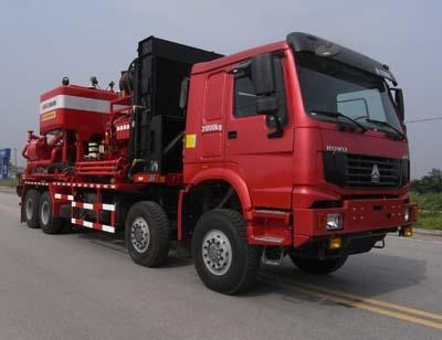 SJX5317TYL105压裂车