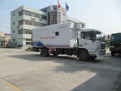 东风天锦物资储备车