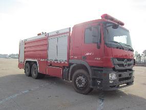 金盛盾牌(JDX5280GXFSG120/B)水罐消防车结构及工作原理